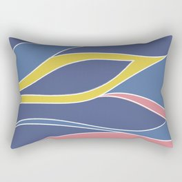 colorful ưaving Rectangular Pillow