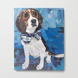 Earl the Hound Pup Metal Print