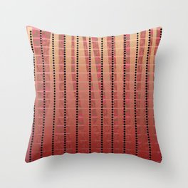 Lines S17 Throw Pillow