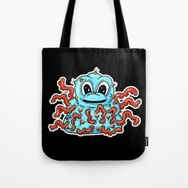 Tentacle Warty Slime Monster Tote Bag