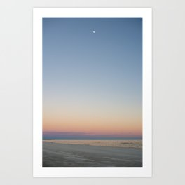Moon, Mississippi Art Print
