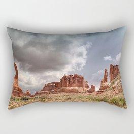 Moab - Red Rocks Country Rectangular Pillow