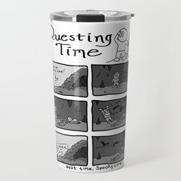 Questing Time: Spooky Cave Travel Mug