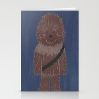 chewbacca Stationery Cards featuring Chewbacca by The Naptime Artist