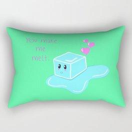 You Make Me Melt Rectangular Pillow