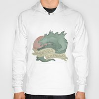 boyfriend Hoodies featuring Monster Boyfriend by Hannah Loewe - Lion & Goldfish