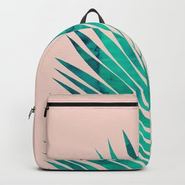 Composition tropical leaves VIII Backpack