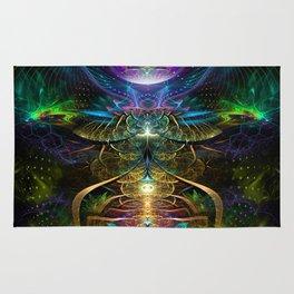 Neons - Fractal - Visionary - Manafold Art Rug