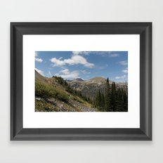 Clark Peak Framed Art Print