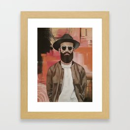 COOL DUDE Framed Art Print