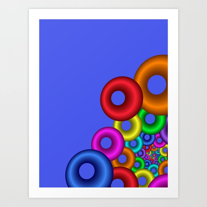 less is more -14- Art Print