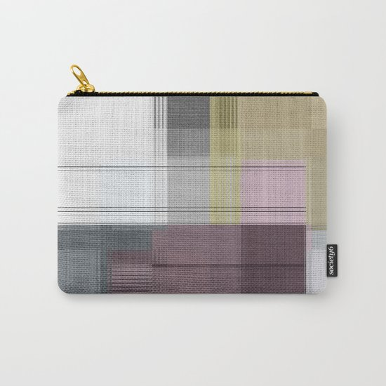 Geometric/Abstract OS Carry-All Pouch