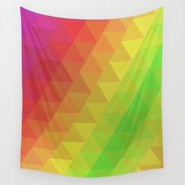 Triangle Paragon Wall Tapestry