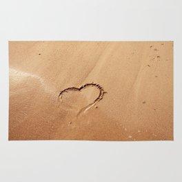 I ♥ beach Rug