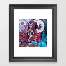 Babalon, the Great Mother Framed Art Print