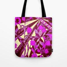 dancing garden in pink and purple Tote Bag