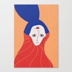 happy tobe sad Canvas Print