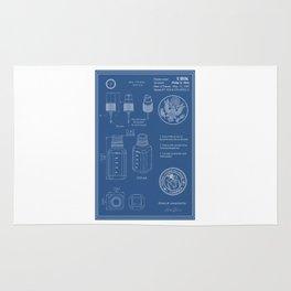UBIK Blueprint Rug