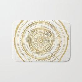 Quaking Aspen – Gold Tree Rings Bath Mat