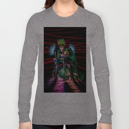 Little Loki's New Katana Long Sleeve T-shirt