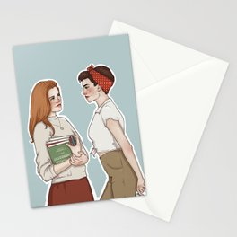 Allison Argent/Lydia Martin 50's AU Stationery Cards