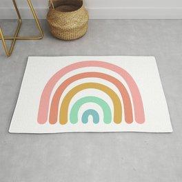 Rainbow Paint Rug