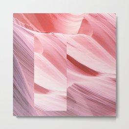 Pink Canyon Metal Print