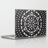 insect Laptop & iPad Skins featuring Insect Mandala by Thomas Terceira