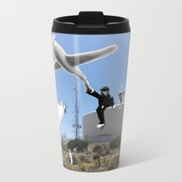 The Tree Hanger and the Flower Hanger Travel Mug