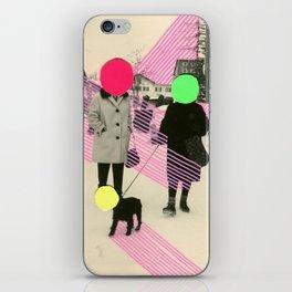 Fluo Conversations iPhone Skin