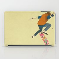 marty mcfly iPad Cases featuring McFly by Danny Haas