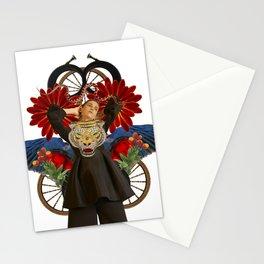 Tiger by Lenka Laskoradova Stationery Cards