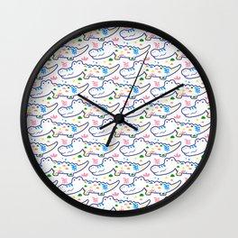 Cutie Crocs Wall Clock