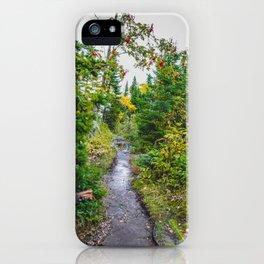 Artist Point Trail, Grand Marais, Minnesota 22 iPhone Case