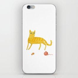 Nice Ginger Cat iPhone Skin