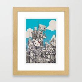 Phuture World Framed Art Print