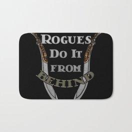 D&D - Rogues Do It Bath Mat