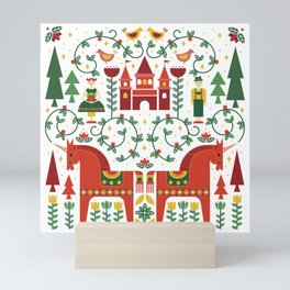 Scandinavian Inspired Fairytale Mini Art Print