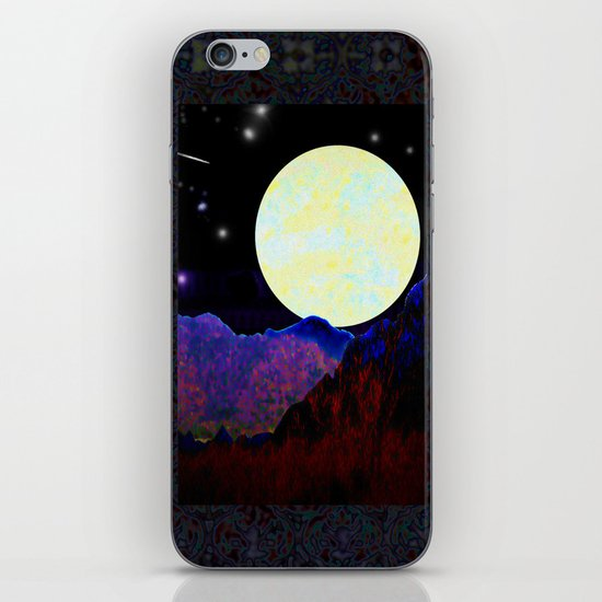 Valley of the Moon iPhone & iPod Skin