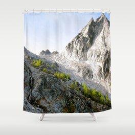 Dawn at Aasgard Pass Shower Curtain