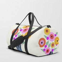 Floral Potpourri Duffle Bag