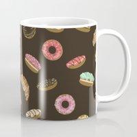 donuts Mugs featuring Donuts by Julia Badeeva