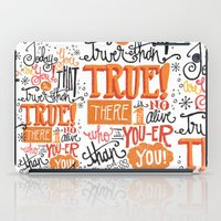 dr seuss iPad Cases featuring TODAY YOU ARE YOU... - DR. SEUSS by Matthew Taylor Wilson