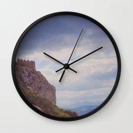 Corinthian Skies Wall Clock