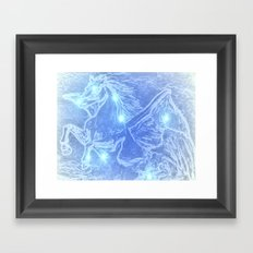 Pegasus-Constellation series Framed Art Print