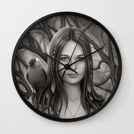 A Jackdaw's Friend Wall Clock