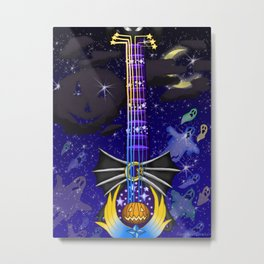 Fusion Keyblade Guitar #132 - Pumpkinhead & Star Seeker Metal Print