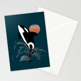 Orca Stationery Cards