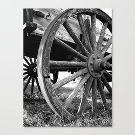 Wagon Wheel #4 Canvas Print
