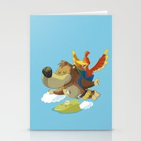 banjo Stationery Cards featuring Banjo by Rod Perich
